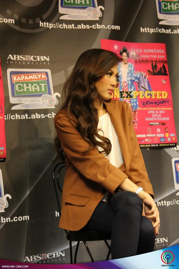 PHOTOS: Ang pagbisita ni AG from the East Alex Gonzaga sa Kapamilya Chat
